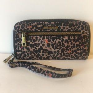 Travelon Leopard RFID Blocking Wallet